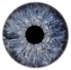 Door stickers Iris eye2