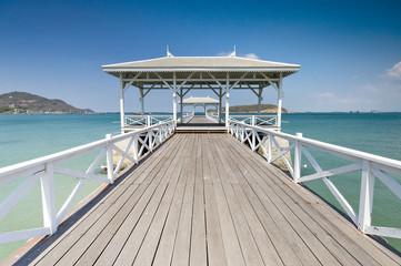 Beautiful pier in Thailand