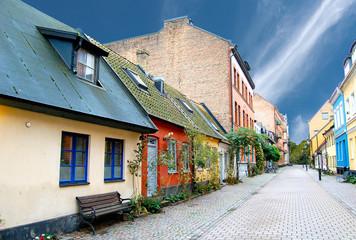 Rue suédoise à Malmö
