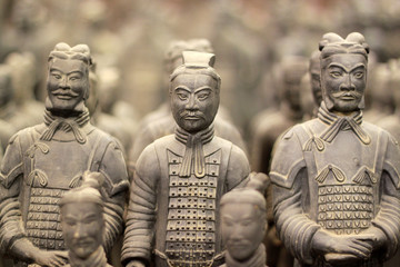 Spoed Fotobehang China Terracotta warriors, China