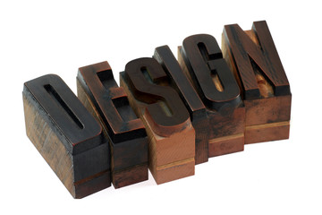 Design - letterpress type