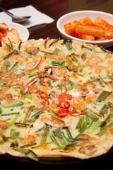 The korean pan cake