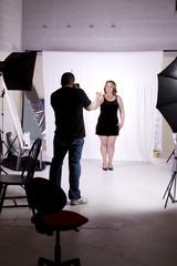 Photographer in the Studio