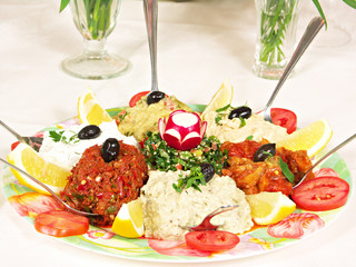 Middle Eastern Appetizers