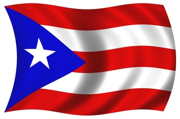 Nationalfahne von Puerto Rico