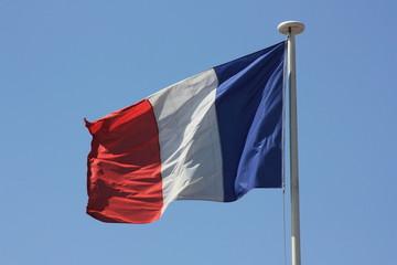 Frankreichfahne aus Stoff
