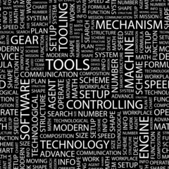 TOOLS. Seamless vector pattern.