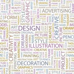 DESIGN. Seamless vector background.