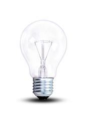 Eine gewöhnliche Glühlampe