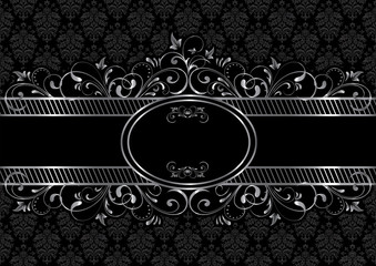 Black gothic background