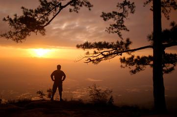 Alone Morning Phukhadung , Thailand