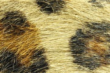Belt simulating cheetah skin