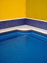 Mexican tiled pool
