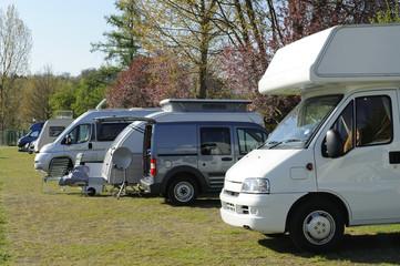 Mobil homes and caravans