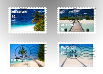 Traumstrand Briefmarken