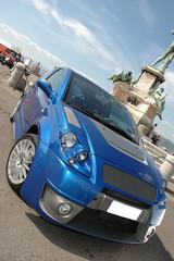 Deurstickers Snelle auto s car glamour