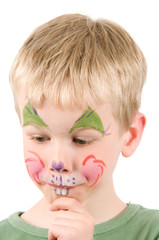Face Painted Rabbit