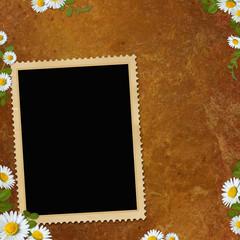 Framework for photo or congratulation