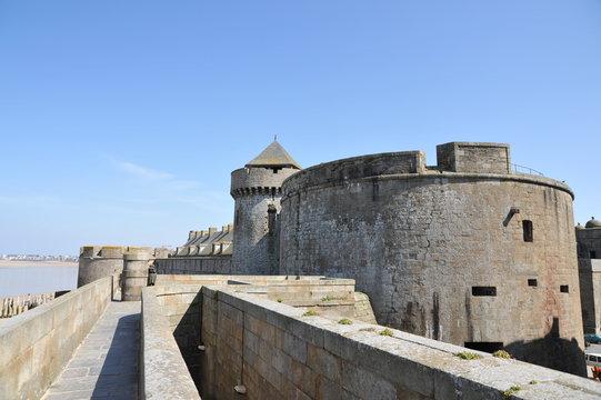 Remparts à saint-Malo