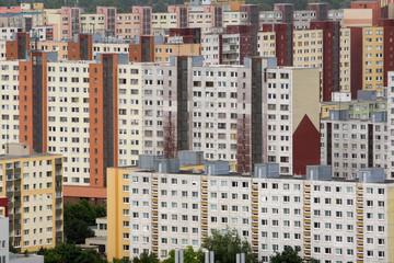 Blocks of flats, Petrzalka, Bratislava, Slovakia