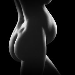 pregnant woman belly - fototapety na wymiar