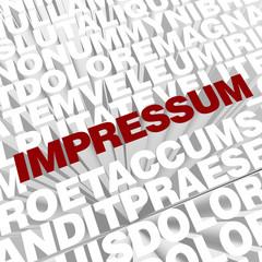 Impressum 3D