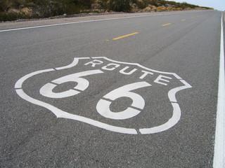Fotobehang Route 66 road