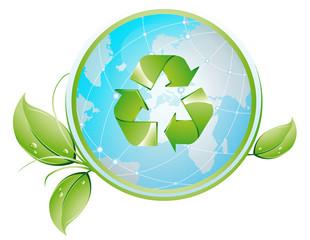 Obraz recykling_liscie - fototapety do salonu
