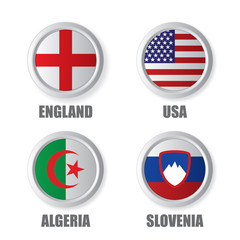 World Cup Team Badges Group C
