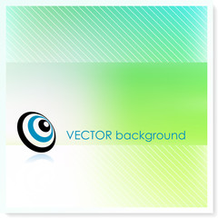 emv bullseye on Vector Background