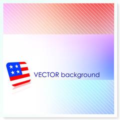 Patriotic American Vector Background