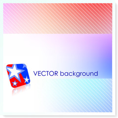 Patriotic American Vector Background