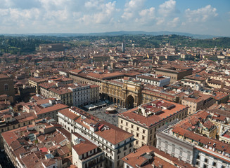 The panoramic sight of Florence