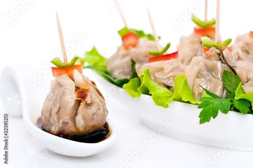 Bouch es de viande vapeur cuisine r unionnaise - Cuisine asiatique vapeur ...