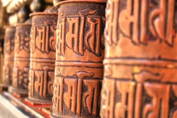 Prayer Mill in Kathmandu