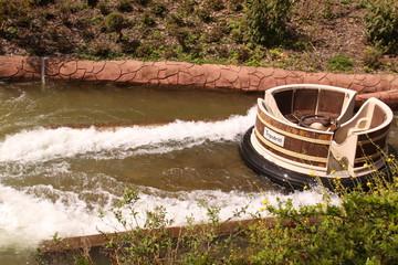 Waschzuber Rafting im Erlebnispark Tripsdrill