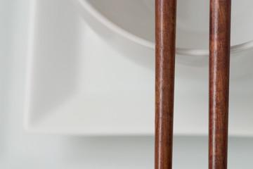 Dekoration, asiatische Tischdekoration Nahaufnahme