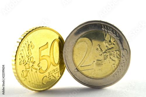 50 cent und 2 euro stockfotos und lizenzfreie bilder auf bild 22399634. Black Bedroom Furniture Sets. Home Design Ideas