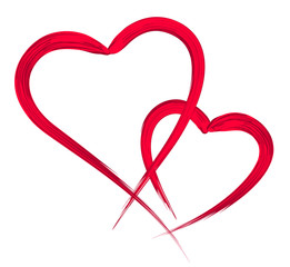hearts, vector illustration