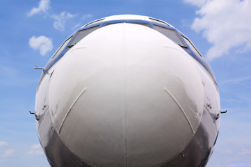 Flugzeugnase