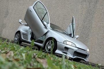 Deurstickers Snelle auto s auto tuning