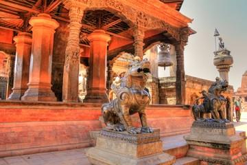 Temple in Bhaktapur (Nepal)
