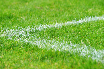 Fußball Rasen Ecke - Soccer Grass