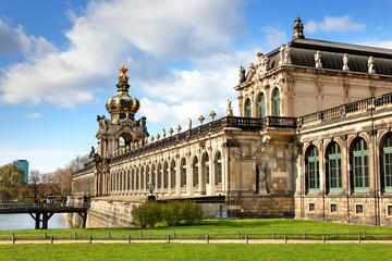 Zwinger in Dresden, Deutschland
