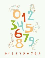 The Safari Numbers