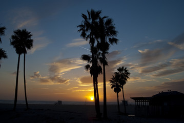 venice beach sunset 2 of 13