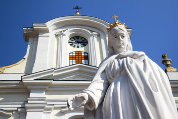 Virgin Mary statue / Mount Calvary