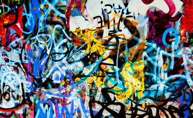 Keuken foto achterwand Graffiti grafitti background