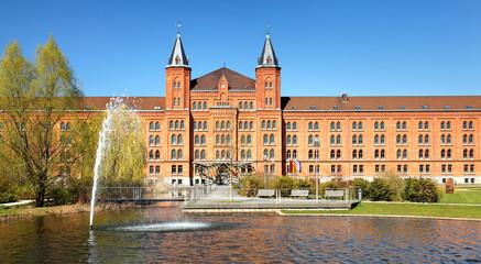 Das Neue Rathaus in Celle, Niedersachsen / Deutschland