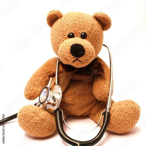 teddy mit stethoskop stockfotos und lizenzfreie bilder. Black Bedroom Furniture Sets. Home Design Ideas